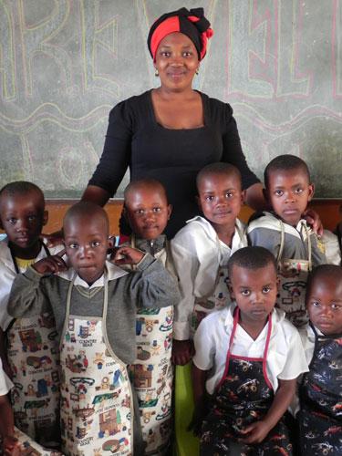 Stolt lärare - glada barn